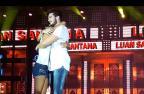 Anitta, Luan Santana e Sandy: relembre artistas surpreendidos por fãs que invadiram palcos (YouTube / Reprodução/Reprodução)