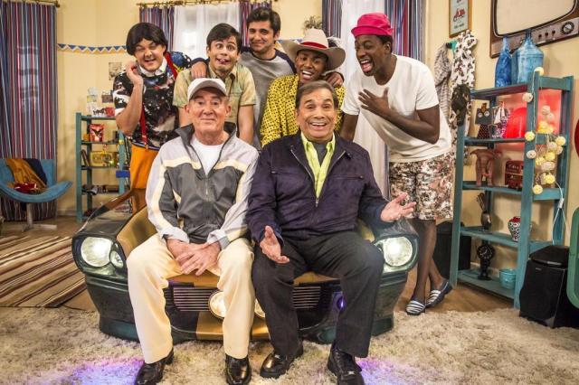 """""""Os Trapalhões"""" retorna apostando em seu velho humor circense Rafael Campos/TV Globo/Divulgação"""
