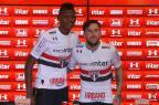 São Paulo apresenta os seus novos reforços, Arboleda e Gomez Rubens Chiri/São Paulo/Divulgação