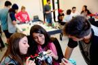 Conheça a Escola do Sesi, que libera eletrônicos, adota métodos próprios e combina disciplinas nas aulas Mateus Bruxel / Agência RBS/Agência RBS