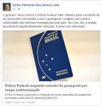Procurador da Lava-Jato fala em represália de Temer à PF na suspensão de passaportes Carlos Fernando dos Santos Lima / Divulgação/Divulgação