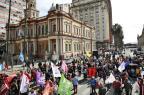 Comércio abre no centro de Porto Alegre, mas lojistas reclamam de pouco movimento  Anderson Fetter/Agencia RBS
