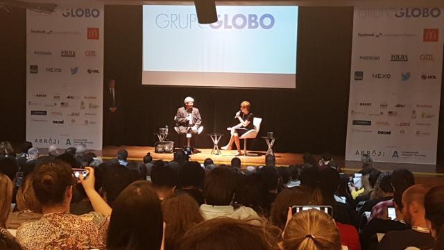 """A mala diz tudo"", diz Janot sobre denúncia contra Rocha Loures Divulgação / Twitter @abraji/Twitter @abraji"