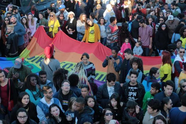 Parada de Luta LGBT reúne milhares na Redenção em defesa da liberdade de gênero André Ávila/Agencia RBS