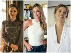 """Michele Vaz Pradella: """"Cadê a atitude das mocinhas?"""" Montagem / Divulgação, TV Globo/Divulgação, TV Globo"""