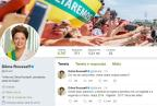 """Dilma posta no Twitter frase de Temer e cita """"farsa das elites"""" Reprodução/"""