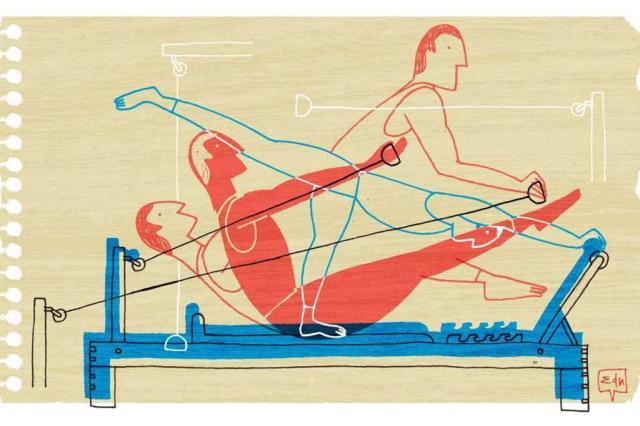 A aula de pilates e o medo do pior Edu Oliveira/Arte ZH