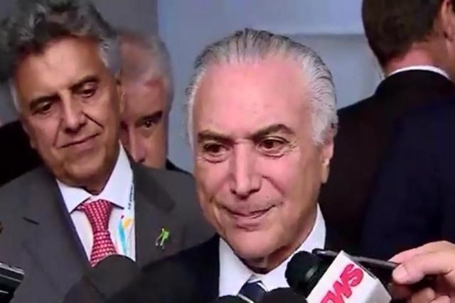 """""""Ele só me dá provas de lealdade"""", diz Temer sobre Rodrigo Maia Reprodução/Agora no Planalto"""