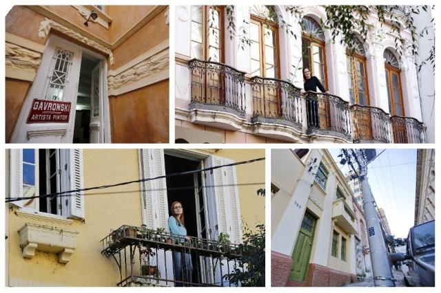 Obras, sonhos e curiosidades: quatro famílias que escolheram casas históricas como lar Montagem sobre fotos de Isadora Neumann/