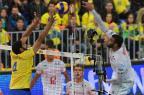 Em Curitiba, Brasil perde para França na final da Liga Mundial NELSON ALMEIDA/AFP