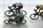 Colombiano Rigoberto Urán vence a nona etapa da Volta da França