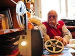 Em 2010, quando foi patrono da Feira do Livro de Porto Alegre, exibindo material coletado em suas pesquisas