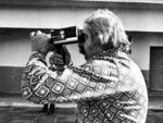 Em 1981, registrando uma recomposição folclórica em em Osório