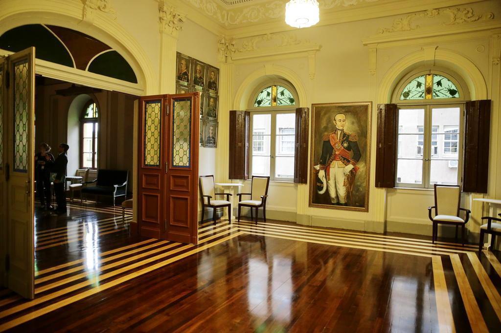 Salão nobre do antigo Quartel-General do Exército em Porto Alegre é restaurado Félix Zucco/Agencia RBS
