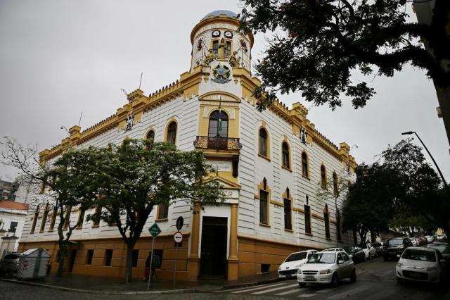 FOTOS: salão nobre do antigo quartel-general do Exército é restaurado Félix Zucco/Agencia RBS