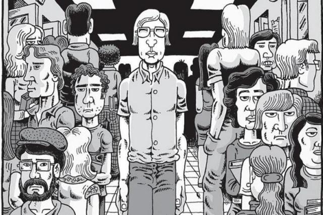 """Ticiano Osório: por que ler a HQ """"Meu Amigo Dahmer"""", de Derf Backderf Derf Backderf/Divulgação"""