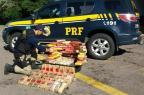 PRF apreende mais de 100 quilos de cocaína em Santa Maria Polícia Rodoviária Federal/PRF