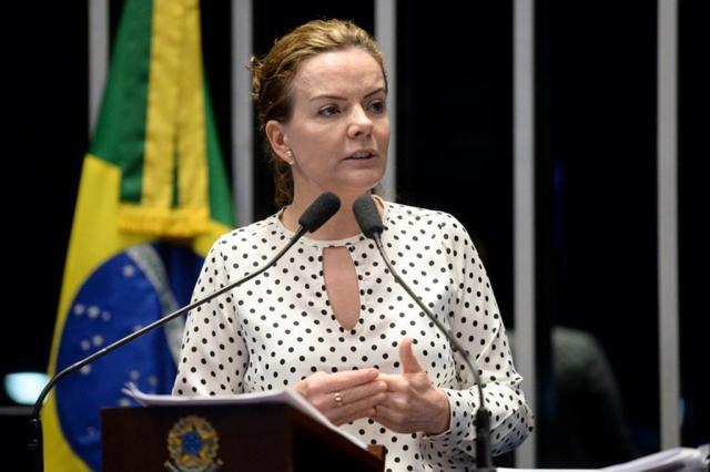 """Presidente do PT diz que decisão de Moro é """"eminentemente política"""" Jefferson Rudy/Agência Senado"""