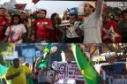 Manifestações contra e a favor de Lula ocorrem pelo país; veja Montagem sobre fotos de Alex Silva e Franklin de Freitas/Estadão Conteúdo