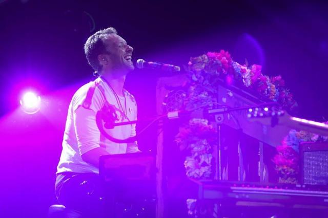 Coldplay: venda de ingressos para o show em Porto Alegre começa nesta sexta-feira AFP PHOTO / Ronny HARTMANN/AFP