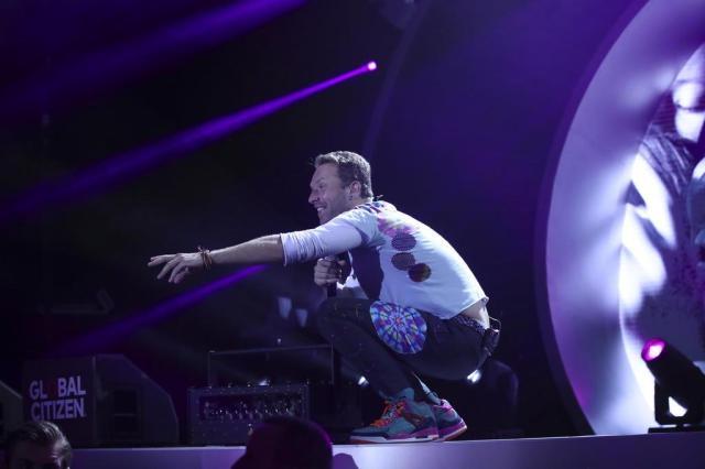 Coldplay em Porto Alegre: ingressos online para o show estão esgotados AFP PHOTO / Ronny HARTMANN/AFP