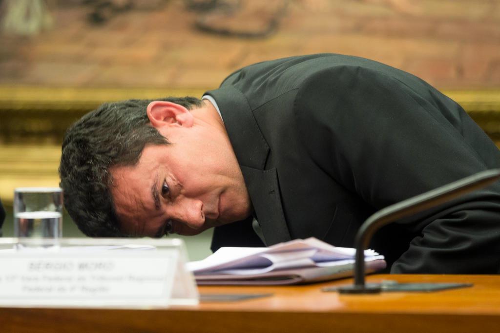 Foto mostra Moro abatido após condenar Lula? É falso Lula Marques/AGPT