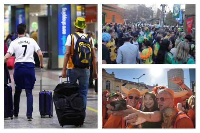 3 anos depois da Copa: por que a realidade perdeu de 7x1 para a expectativa em Porto Alegre Montagem sobre fotos de Tadeu Vilani, André Baibich e  Félix Zucco / Agência RBS/Agência RBS