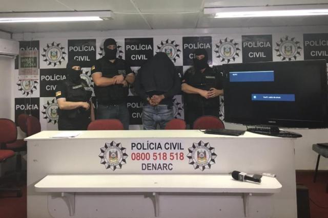 Traficante preso no Paraguai distribuía 42 toneladas de maconha por mês ao Brasil Marina Pagno/Agência RBS
