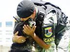 Cão da Brigada Militar morre em Caxias do Sul Divulgação/Brigada Militar
