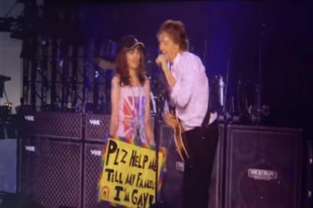 VÍDEO: em show, Paul McCartney ajuda fã a revelar que é gay para a família YouTube/Reprodução