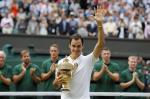 Federer vence Cilic e leva oitavo título de Wimbledon