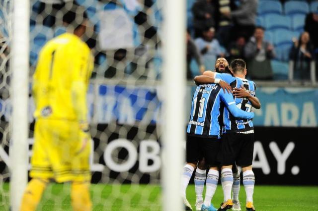 """Grêmio retoma caça ao Corinthians e valoriza """"gordura"""" sobre Santos e Flamengo Lauro Alves/Agencia RBS"""