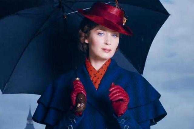 """Disney divulga primeiras imagens de """"Mary Poppins"""" e """"Os Vingadores"""" Reprodução/Facebook"""