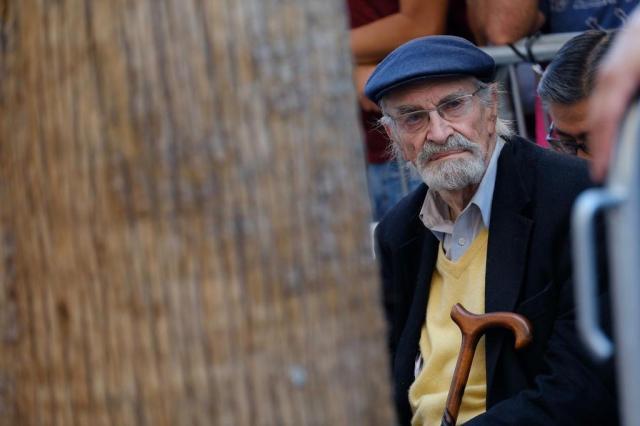 """Morre ator americano Martin Landau, vencedor do Oscar por atuação em """"Ed Wood"""" CHRIS DELMAS/AFP"""