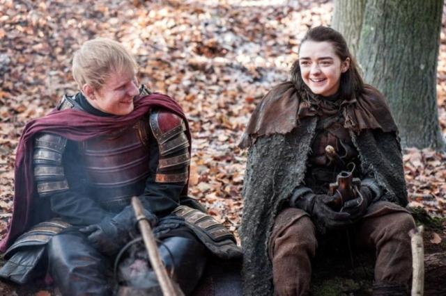 """""""Game of Thrones"""": fãs ficam surpresos com participação de Ed Sheeran na série HBO/Divulgação"""
