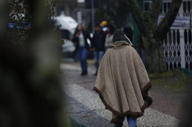 Santa Catarina registra -7,4ºC, a menor temperatura do ano no Brasil Diorgenes Pandini/Agencia RBS