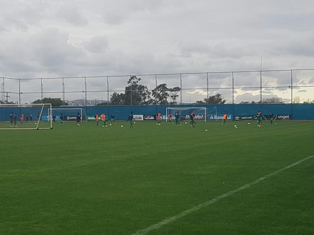 Adversário do Inter na Série B, Luverdense treina no CT do Grêmio Rodrigo Oliveira / Agencia RBS/Agencia RBS
