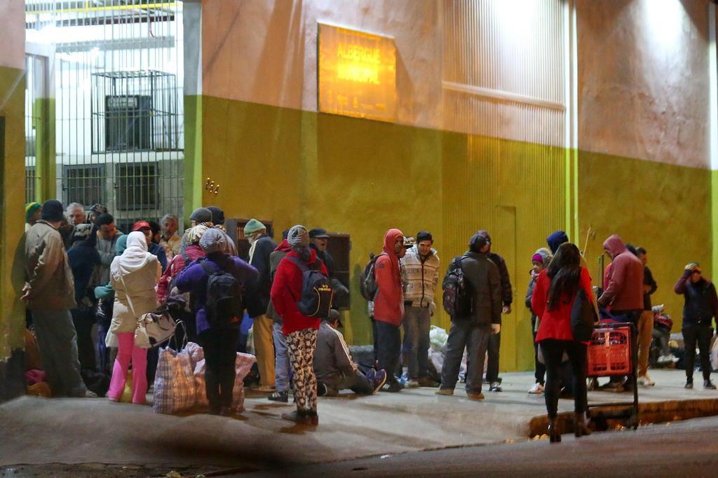 Como é a rotina de quem recorre aos albergues no inverno em Porto Alegre André Feltes/Especial