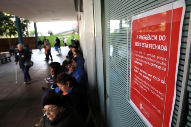 Sobe para oito o número de hospitais com emergências lotadas em Porto Alegre Bruno Alencastro/Agencia RBS