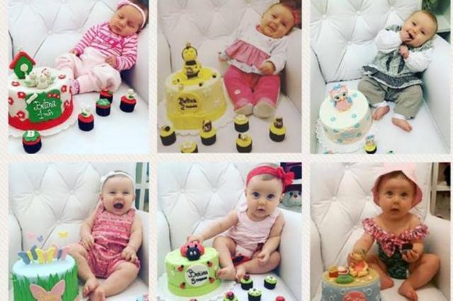 Mesversário: hábito de comemorar cada mês completado pelos bebês atrai famílias e motiva o consumo Arquivo Pessoal/Arquivo Pessoal