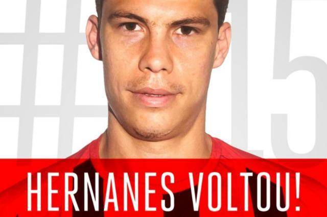 No BID, Hernanes chega nesta sexta e já pode reestrear pelo São Paulo Reprodução / Twitter/Twitter