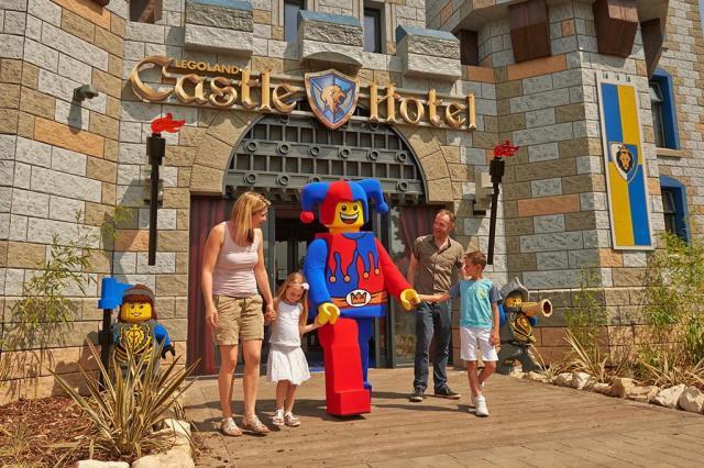 Inglaterra ganha hotel feito com mais de 2 milhões de peças de Lego Legoland Windsor Resort/Divulgação