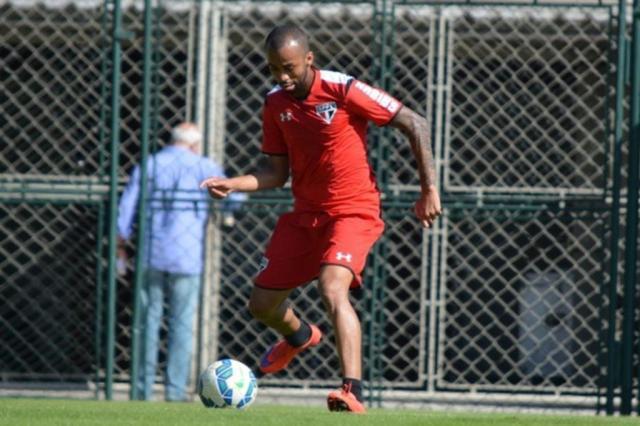São Paulo e volante Wesley negociam rescisão de contrato SPFC.net/Divulgação