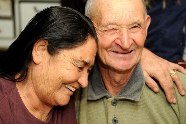 Irmãos se reencontram em Caxias do Sul depois de 43 anos Diogo Sallaberry/Agencia RBS