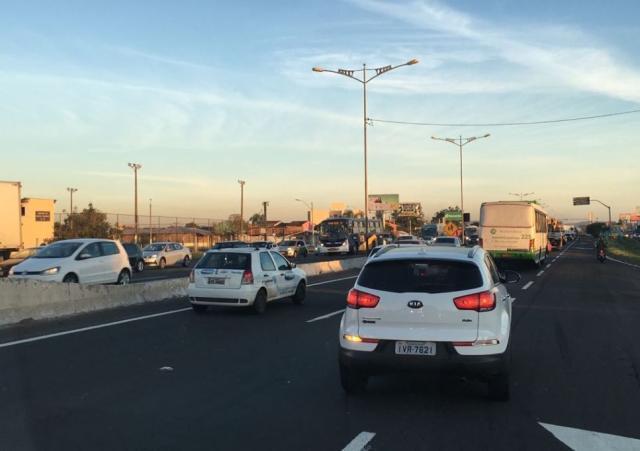 Trânsito é complicado na Região Metropolitana neste fim de tarde Lucas Abati / Agência RBS/Agência RBS