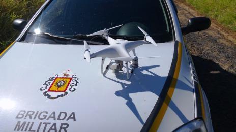BM apreende drones sobrevoando complexo prisional em Charqueadas (Brigada Militar/Divulgação)