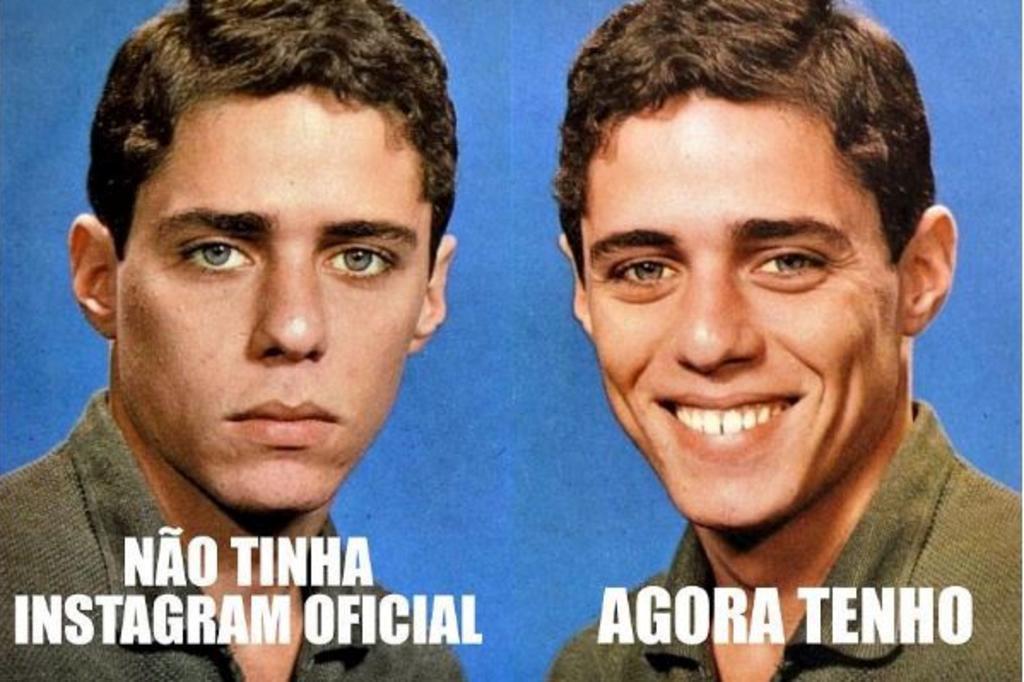 Chico Buarque usa meme próprio para divulgar conta no Instagram