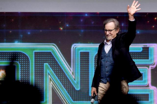 "Steven Spielberg revela trailer de ""Ready Player One"" na Comic-Con Kevin Winter/Getty Images/AFP"