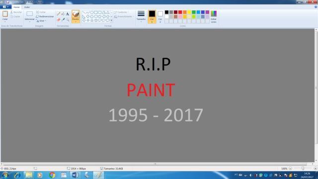Veja memes sobre o fim do Paint Reprodução/