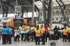 Acidente de trem em Barcelona deixa 54 feridos Josep Lago/AFP